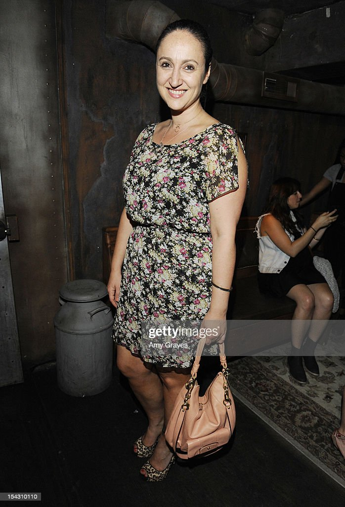 Hellin Kay attends the Harlyn Launch Party with special acoustic performance by Jenny Lewis at Harvard And Stone on October 17, 2012 in Hollywood, California.