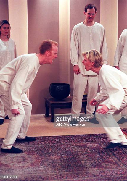 ELLEN 'Hello Dalai' Season Four 2/19/97 Peter confronted Ellen at a spiritual retreat