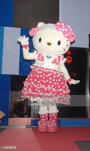 Hello Kitty during 'Hello Kitty Collection by Little Lily' Arrivals at Feria in Tokyo Japan
