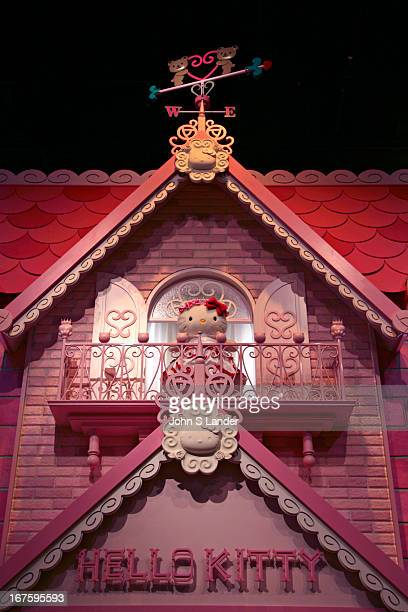 Hello Kitty's House at Sanrio Puroland an indoor theme park located in Tama  Center Tokyo that