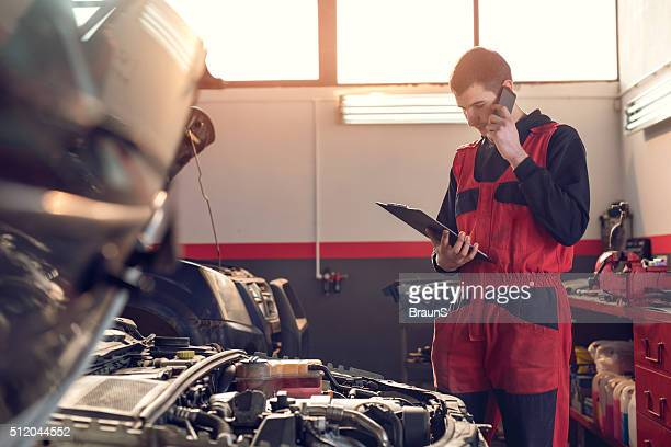 Hello, you can pick your car from auto repair shop!