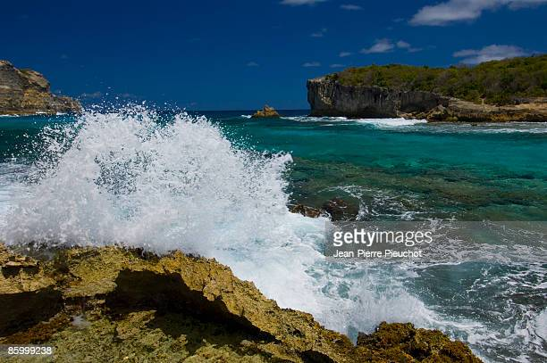 Hell's Gate seaside Guadeloupe