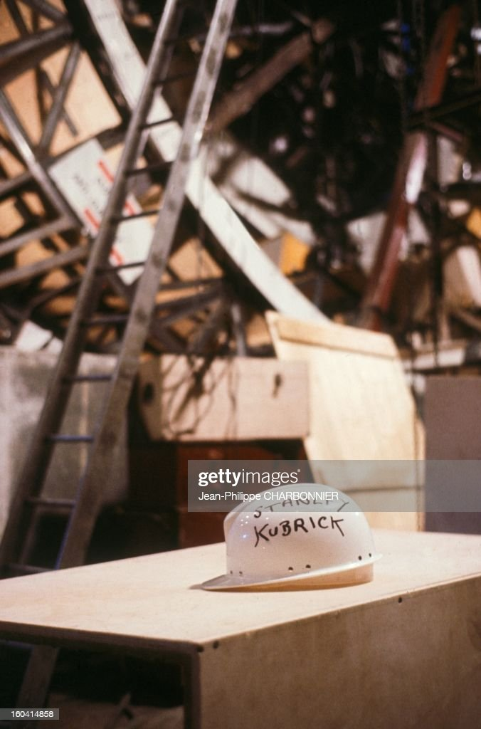 Helmet of American film director Stanley Kubrick on the set of the movie '2001: A Space Odyssey', 1968 in United Kingdon.