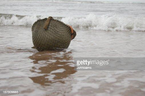 Helmet on Beach.