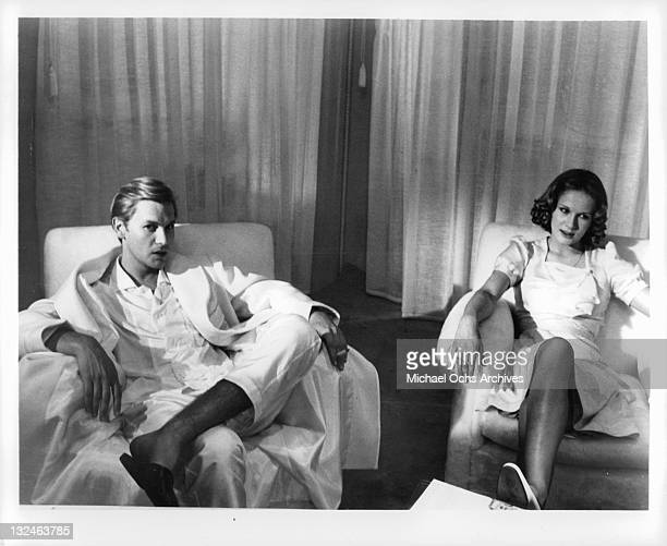 Helmut Berger And Dominique Sanda star as brother and sister in a scene from the film 'The Garden Of The Finzi Continis' 1970