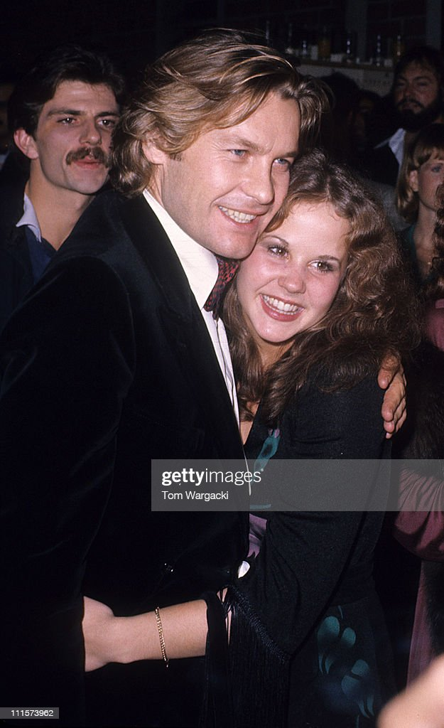 Helmut Berger and Linda Blair during Linda Blair and Helmut Berger Sighting in Beverly Hills November 14 1976 at Beverly Hills in Los Angeles United...
