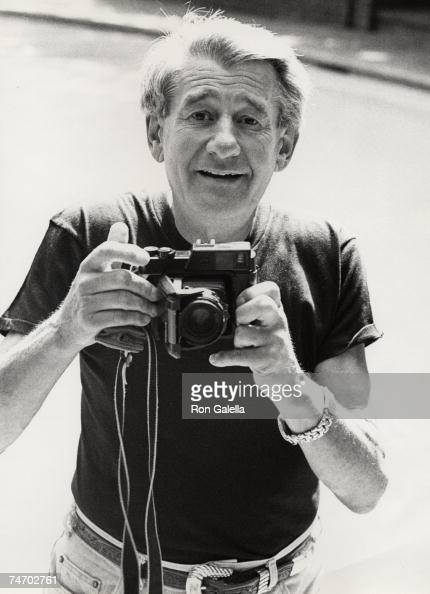 Helmut Newton at the Chateau Marmont in Hollywood California