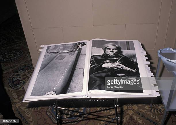 Helmut Newton's Book 'Sumo' during 16th Annual Infinity Awards at Regent Ballroom at the Regent Wall Street in New York City New York United States