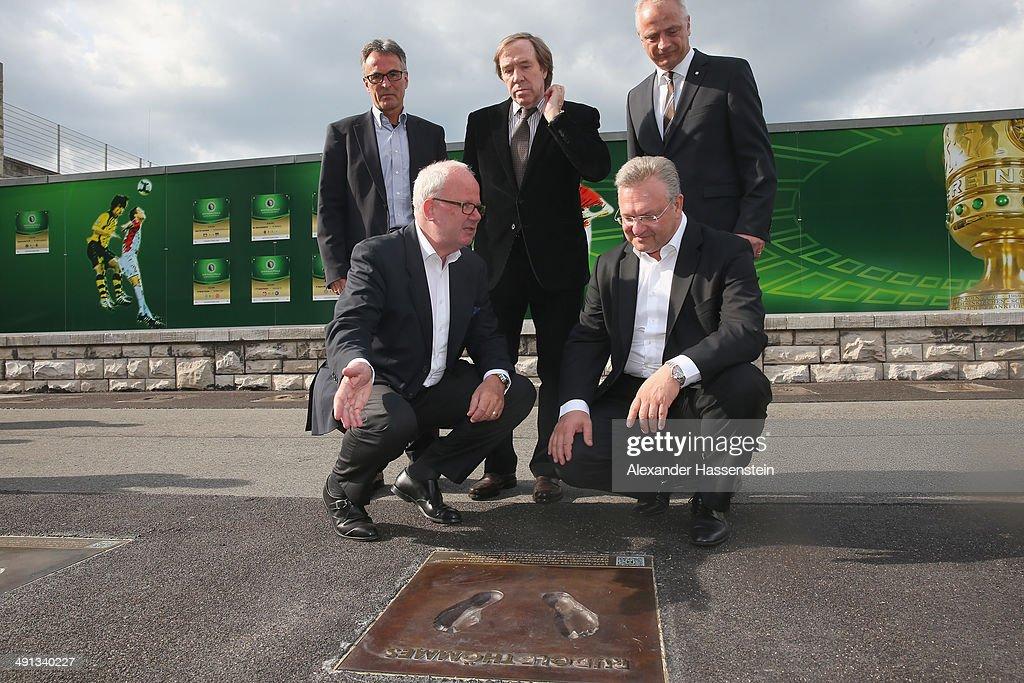 Olympiastadion Berlin Unveils DFB Walk Of Fame