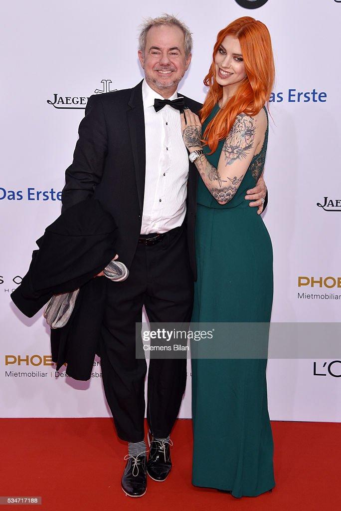 Helmut Zerlett and his daughter Jana Zerlett attend the Lola - German Film Award (Deutscher Filmpreis) on May 27, 2016 in Berlin, Germany.