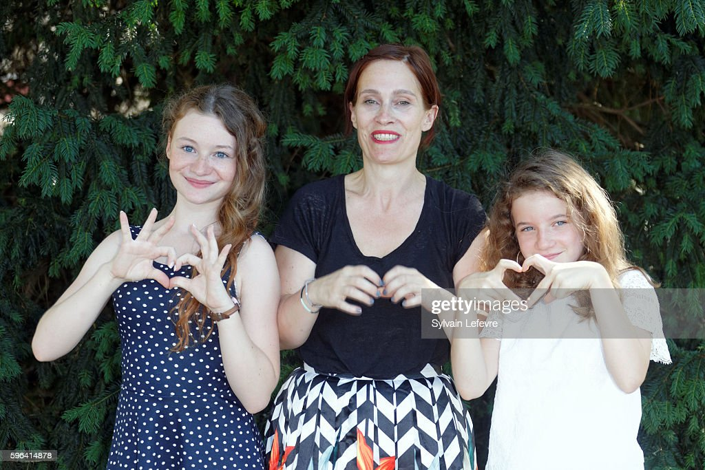 Heloise Dugas Sophie Reine and Fanie Zanini attend 9th Angouleme FrenchSpeaking Film Festival on August 27 2016 in Angouleme France