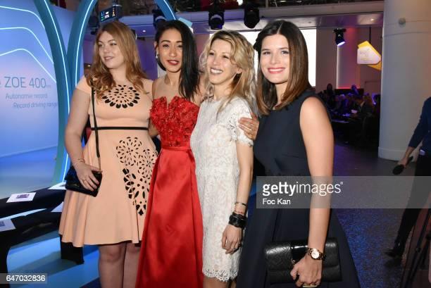 Heloise Martin Josephine Jobert Tristane Banon and Flavie Pean attend the Christophe Guillarme show as part of the Paris Fashion Week Womenswear...