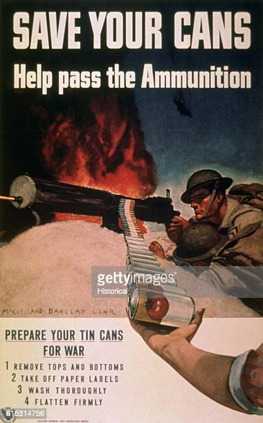 CANS / Help Pass the Ammunition by McClelland Barclay