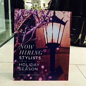 Help wanted BEBE Store Fashion Show Mall Las Vegas Nevada October 30 2014 Holiday hiring