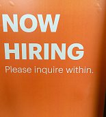 Help Wanted Department store Seattle USA 24 October 2014