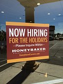Help Wanted Honey Baked famous for its Hams Lines will be around side of building thanksgiving and Christmas October 27 2014