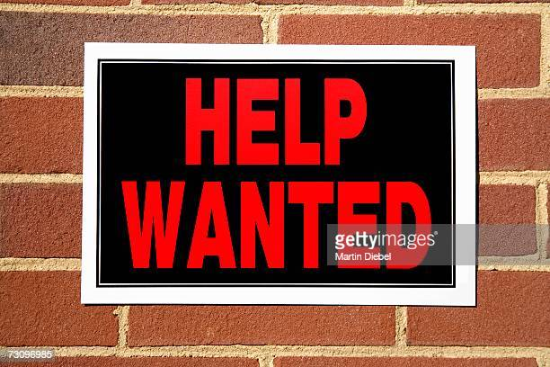 ?Help Wanted? sign