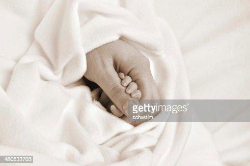 Aiutando le mani : Foto stock