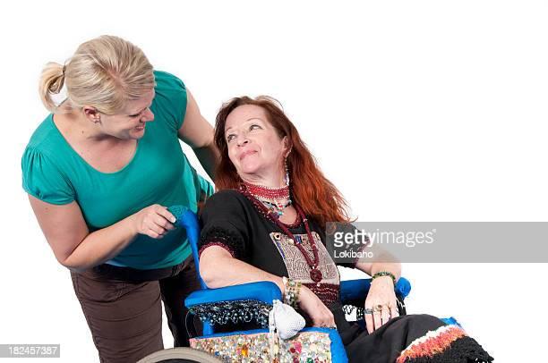 Damit die Behinderten