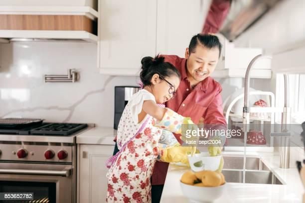 Bijdragen aan de vader in de keuken