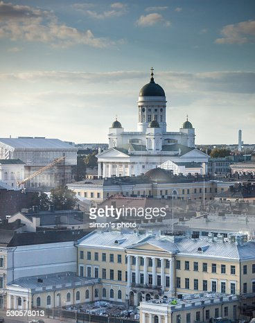Helsinki Cathedral overlooking