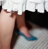 Hem of skirt