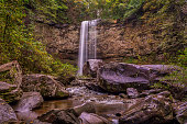 Hemlock Falls is a 90 foot waterfall located withing Cloudland Canyon State Park.