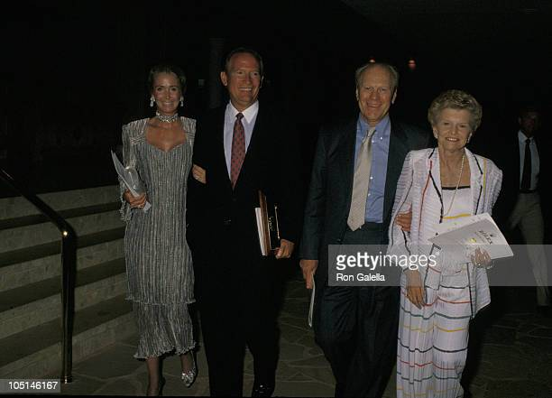 C Hemmeter Gerald Ford and Betty Ford during Kauai Invitational Awards Dinner at Westin Kauai Hotel in Kauai HI United States