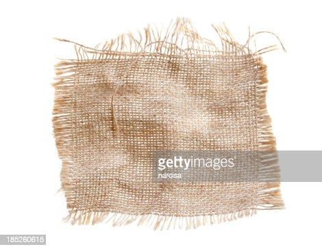 Hemp textile burlap