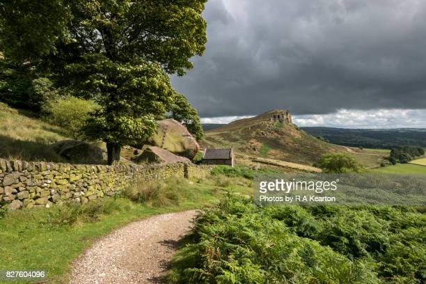 Hen Cloud from the Roaches, Staffordshire, England
