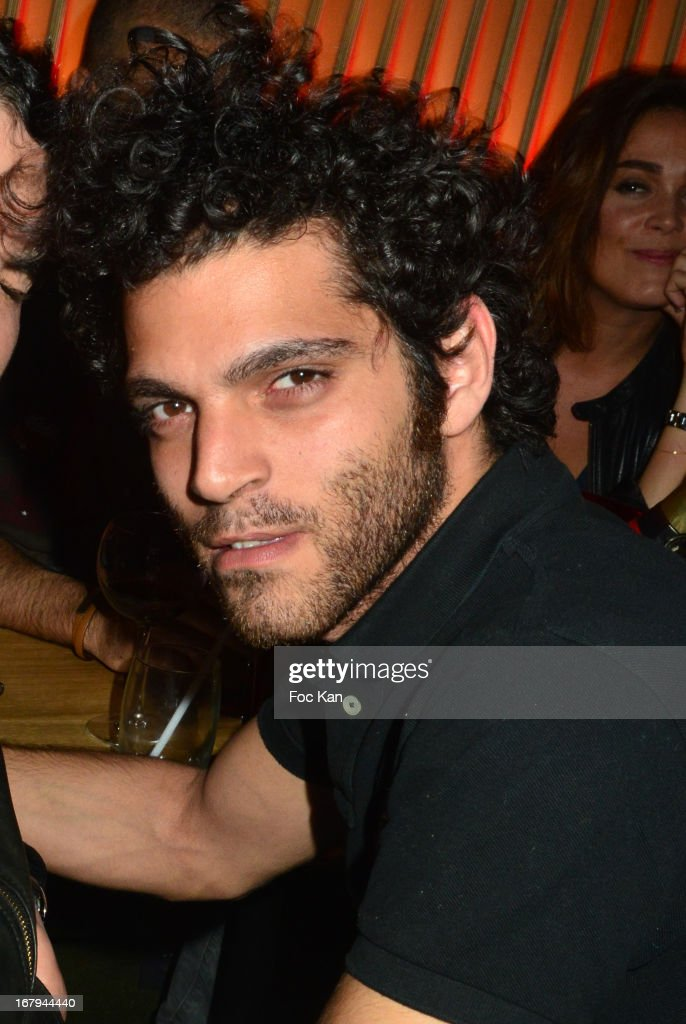 Heneine Vincent attendS the Sam Bobino DJ Set Party At The Hotel O on April 25, 2013 in Paris, France.