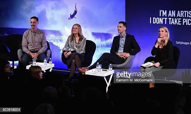 Henk Van Niekerk Head of Publisher Services at AOL Rachel Forde Managing Director PG United UK at Starcom MediaVest Group Hamish White Digital...
