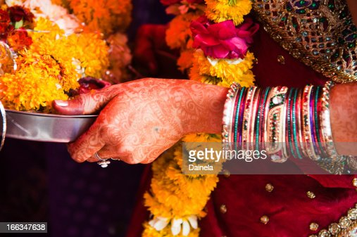 Henna - Mehndi : Stock Photo