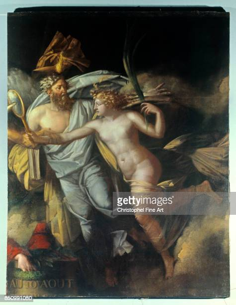 Hennequin Philippe Auguste The Triumph of the French People on August 10 Paris Louvre Museum