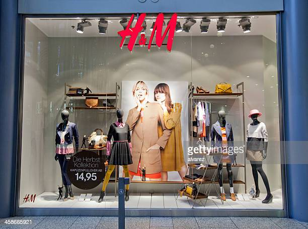 Hennes and Mauritz shop window