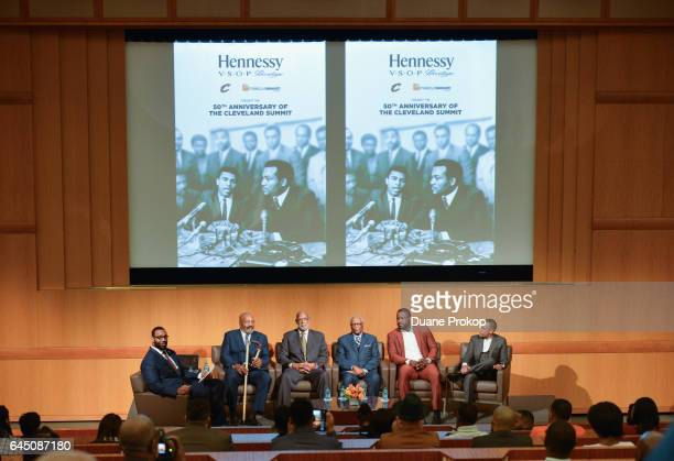 Hennessy VSOP Privilege and the Cleveland Cavaliers present the 2017 Jim Brown Cleveland Summit What It Means to Black Athletes 50 Years Later panel...