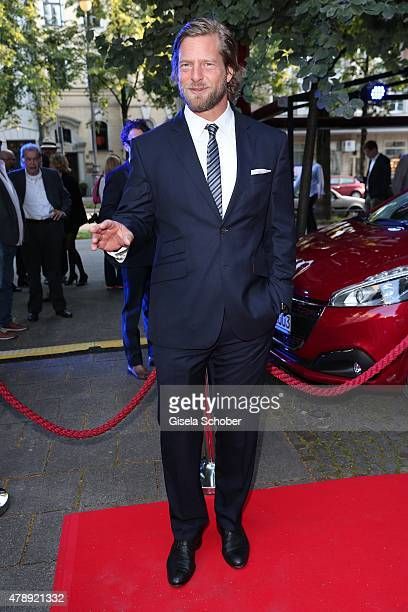 Henning Baum during the Peugeot BVC Castingnight Summer 2015 at Kaeferschaenke on June 28 2015 in Munich Germany