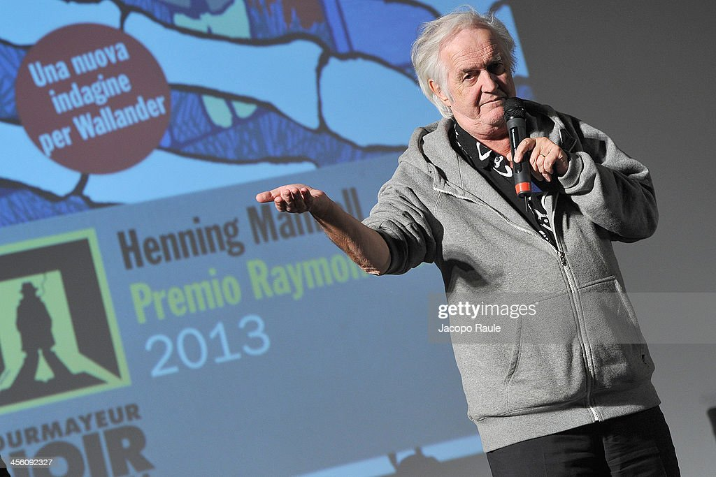 <a gi-track='captionPersonalityLinkClicked' href=/galleries/search?phrase=Henning+Mankell&family=editorial&specificpeople=5358246 ng-click='$event.stopPropagation()'>Henning Mankell</a> attends Day 4 of the 23rd Courmayeur Noir In Festival on December 13, 2013 in Courmayeur, Italy.