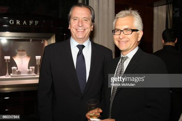 Henri Barguirdjian and John Melne attend The Private Unveiling of GRAFF Time Watch Collection 1 at Graff on June 11 2009 in New York City