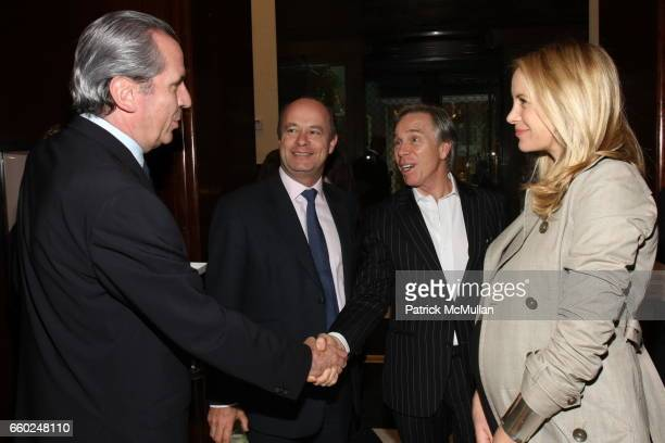 Henri Barguirdjian Eduard van der Geest Tommy Hilfiger and Dee Ocleppo attend The Private Unveiling of GRAFF Time Watch Collection 1 at Graff on June...
