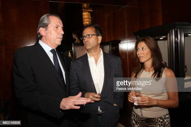 Henri Barguirdjian Gijsbert Groenewegen and Jackie Marker attend The Private Unveiling of GRAFF Time Watch Collection 1 at Graff on June 11 2009 in...