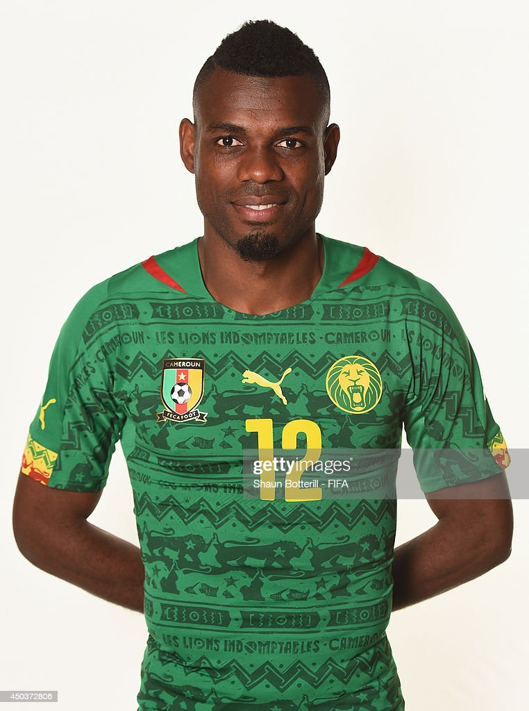 <a gi-track='captionPersonalityLinkClicked' href=/galleries/search?phrase=Henri+Bedimo&family=editorial&specificpeople=2293105 ng-click='$event.stopPropagation()'>Henri Bedimo</a> of Cameroon poses during the official FIFA World Cup 2014 portrait session on June 9, 2014 in Vitoria, Brazil.