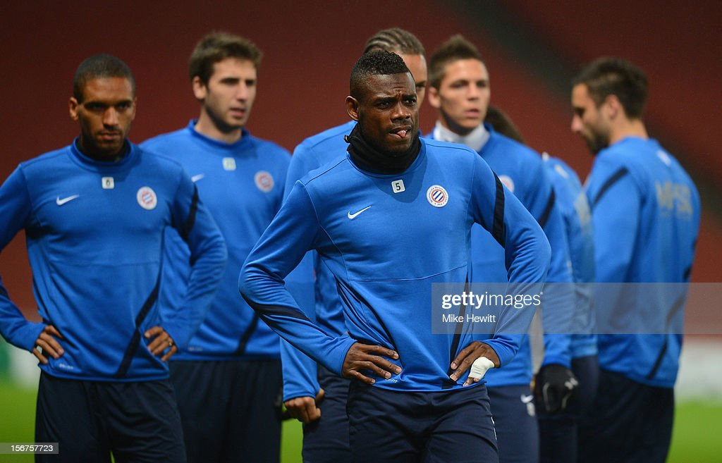 Montpellier Herault SC Training and Press Conference