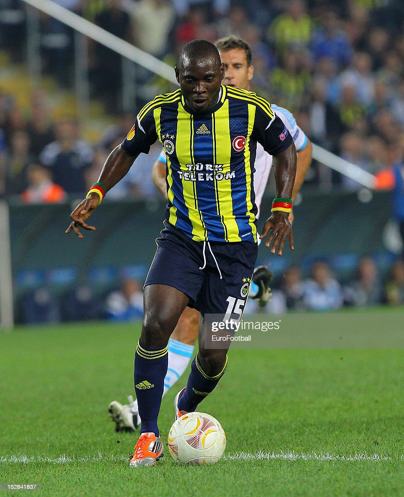 Henri Bienvenu of Fenerbahce SK in action during the UEFA Europa League group stage match between Fenerbahce SK and Olympique de Marseille on September 20, 2012 at Sukru Saracoglu in Istanbul, Turkey.