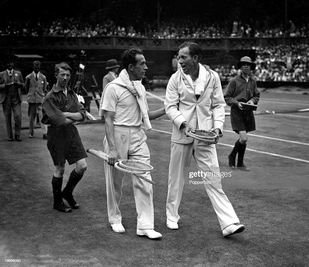 Paris France 30th June 1930 French tennis player Rene Lacoste