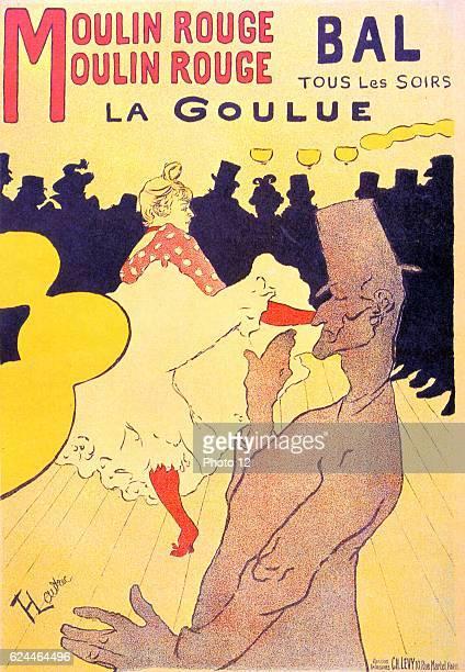 Henri de ToulouseLautrec Ecole francaise Moulin Rouge La Goulue