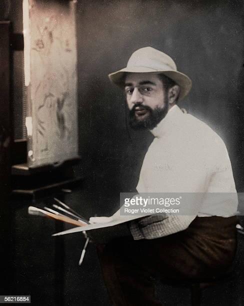Henri de ToulouseLautrec French painter 1894 Colourized photo
