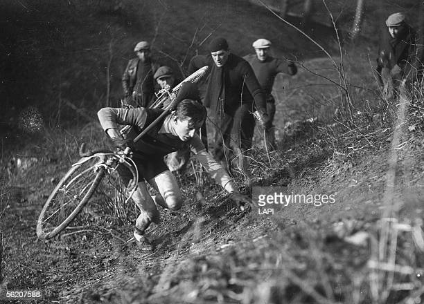 Henri Faucheux cyclocross of the VertGalant France december 22 1940