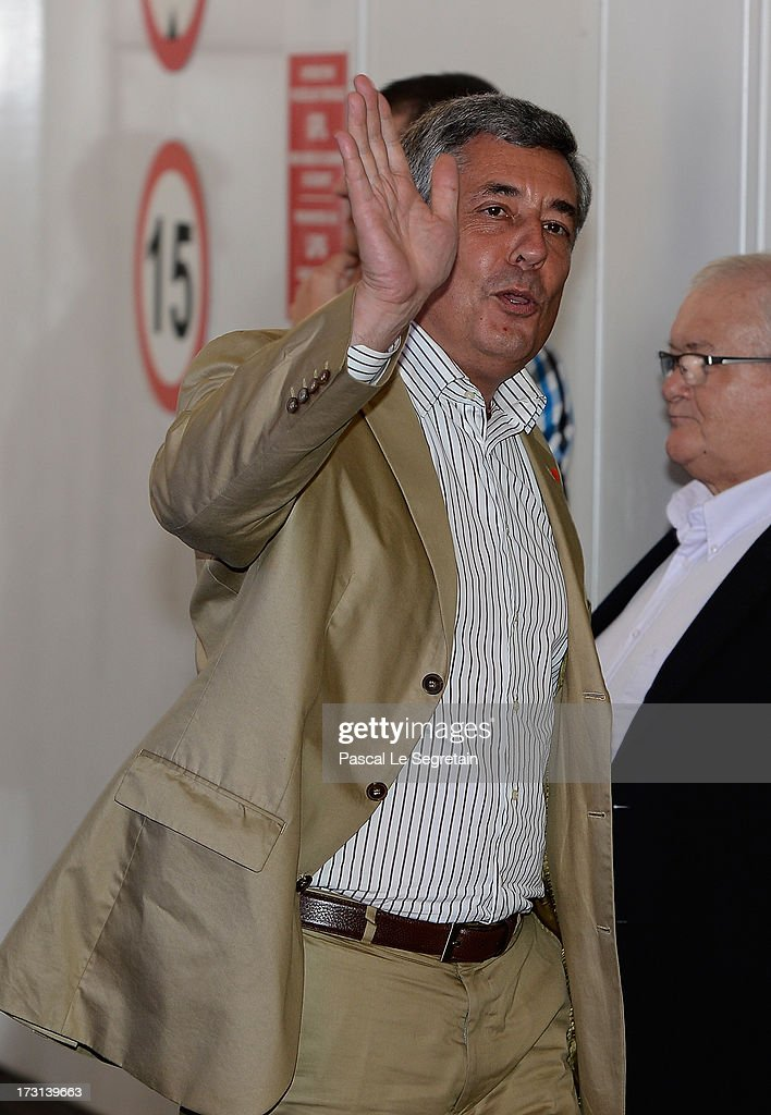 <a gi-track='captionPersonalityLinkClicked' href=/galleries/search?phrase=Henri+Guaino&family=editorial&specificpeople=4206004 ng-click='$event.stopPropagation()'>Henri Guaino</a> arrives at the UMP headquarters to attend an extraordinary meeting of UMP right-wing opposition party July 8, 2013 in Paris, France.