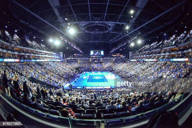 Henri Kontinen of Finland and John Peers of Australia win the Doubles final against Lukasz Kubot of Poland and Marcelo Melo of Brazil at Nitto ATP...